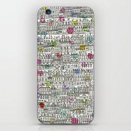 Parisian Cityscape iPhone Skin
