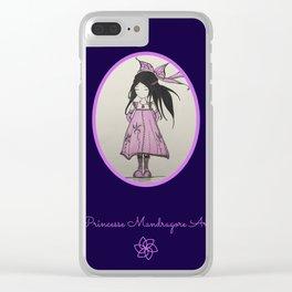 Violette Mandragore Clear iPhone Case