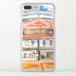Wrigley Field Clear iPhone Case