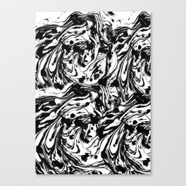 Quirky Patches by Enkhzaya Enkhtuvshin Canvas Print