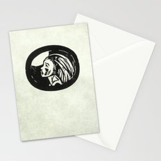 cry to the moon Stationery Cards