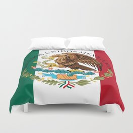 Mexican National Coat of Arms & Seal (HQ image) Duvet Cover
