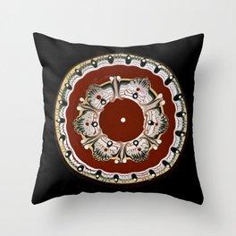 Bulgarian Plate Throw Pillow