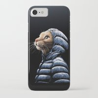 iPhone Cases featuring COOL CAT by Tummeow