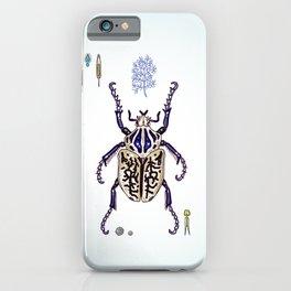 Happy Goliath beetle iPhone Case