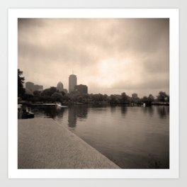 Charles River Lagoon View 2 Art Print