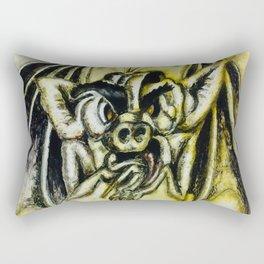 Grotesque Rectangular Pillow
