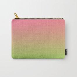 NEW ENERGY - Minimal Plain Soft Mood Color Blend Prints Carry-All Pouch