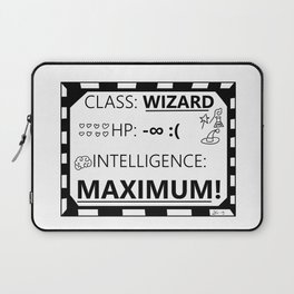 Wizarding Diploma Minus Infinity HP and Maximum Intelligence Laptop Sleeve