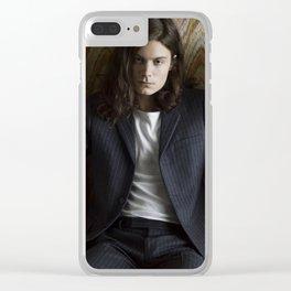 BØRNS Clear iPhone Case