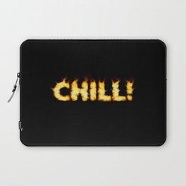 CHILL -TEE/HOODIE/BAG etc Laptop Sleeve