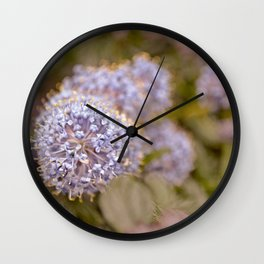 Darling Buds Wall Clock