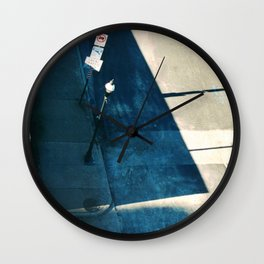 Baltimore Maryland Cold Wall Clock