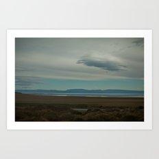Lago Argentina Art Print