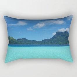 Bora Bora Ocean Rectangular Pillow