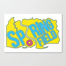 Springfield Canvas Print