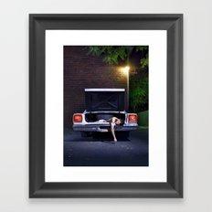 Crime Scene Framed Art Print