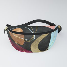 Abstract Pebbles II Fanny Pack