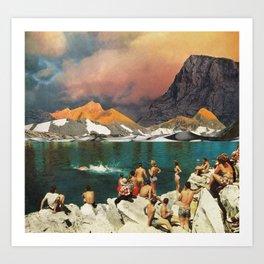 Turistas (2010/2017) Art Print