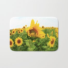 Sonnenblumen 4 Bath Mat