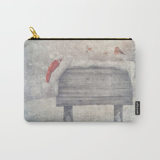 Winter wonderland birds  Carry-All Pouch