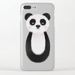 Panda Nursery Art Clear iPhone Case