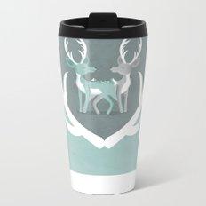 I Love You Deerly Metal Travel Mug