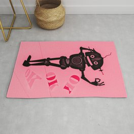 OK Red Bot Rug