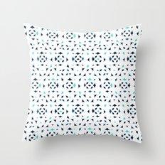 Mobula Rays Pattern Throw Pillow