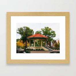 Washington Park Bandstand   Cincinnati, OH   Urban Park Framed Art Print