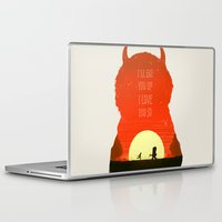 wild things Laptop & iPad Skins featuring Wild Things by Duke Dastardly