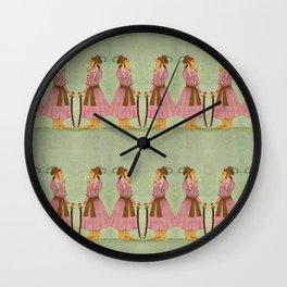 Akbar - Mughal Emperor Folk Hero Wall Clock