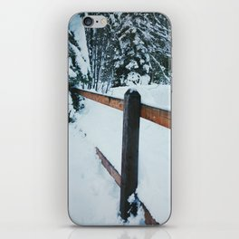 Snow Place Like Home iPhone Skin