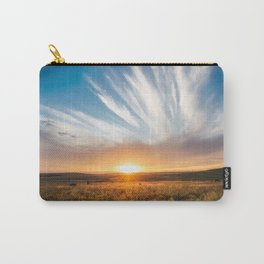 Grand Exit - Golden Sunset on the Oklahoma Prairie Carry-All Pouch