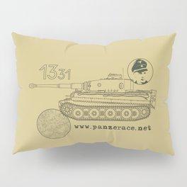 Michael Wittmann Panzer Ace 1331 Kursk Sand/Olive Green Pillow Sham