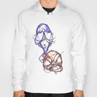 ying yang Hoodies featuring Ying & Yang by Nerve