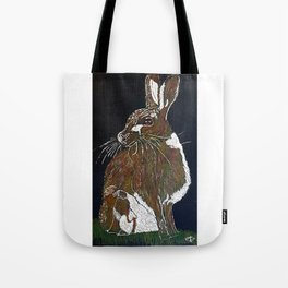 Hare Today Tote Bag