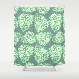 Polygonal zen. Shower Curtain