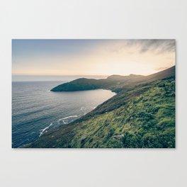 Keem Bay Sunset Canvas Print