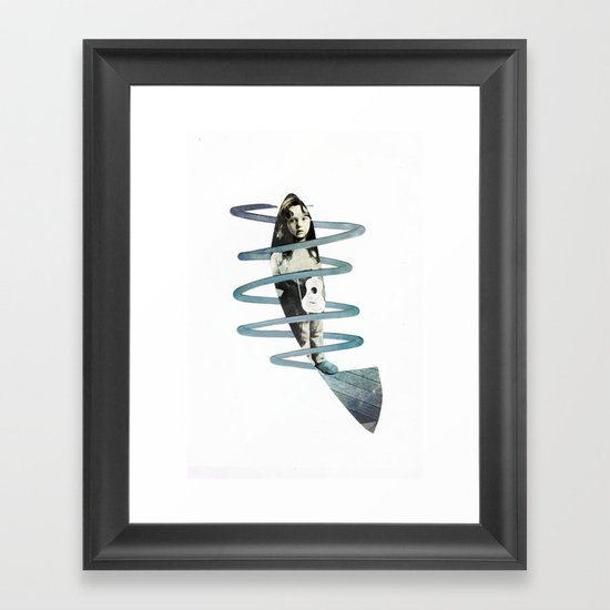 F i s h Framed Art Print