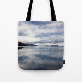 Mirroring Lake Tekapo Tote Bag