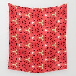 Gabriella Watermelon Slime Design Wall Tapestry