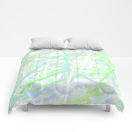 I Lost at Paintball Abstract Streaks Comforters