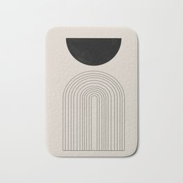 Arch, geometric modern art Bath Mat