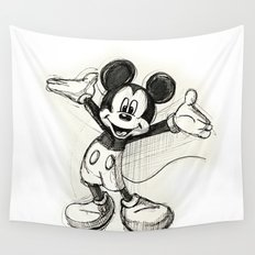 Mickey Mouse Wall Tapestry