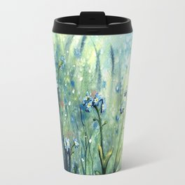 Forget me not flowers Travel Mug