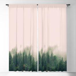 Pink Fog Blackout Curtain