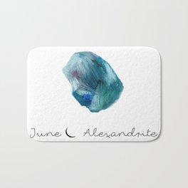 june alexandrite Bath Mat