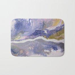 Liquid Rainbow Mountain Stream Bath Mat