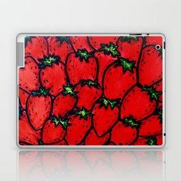 Strawberry jamboree Laptop & iPad Skin